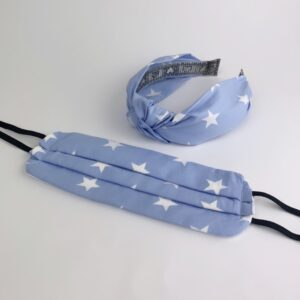 Lila Blue Star Face Mask Set