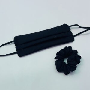 Lila Black Face Mask Set