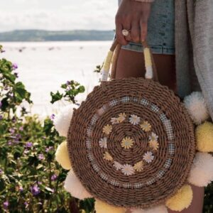 Lila Summer Beach Bag