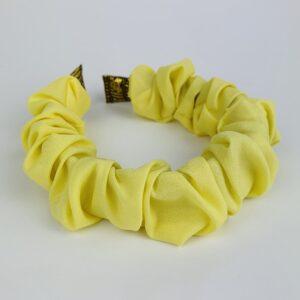 Lila Lemon Ruffle Headband