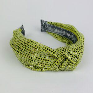 Lila Lime Green Turban Headband