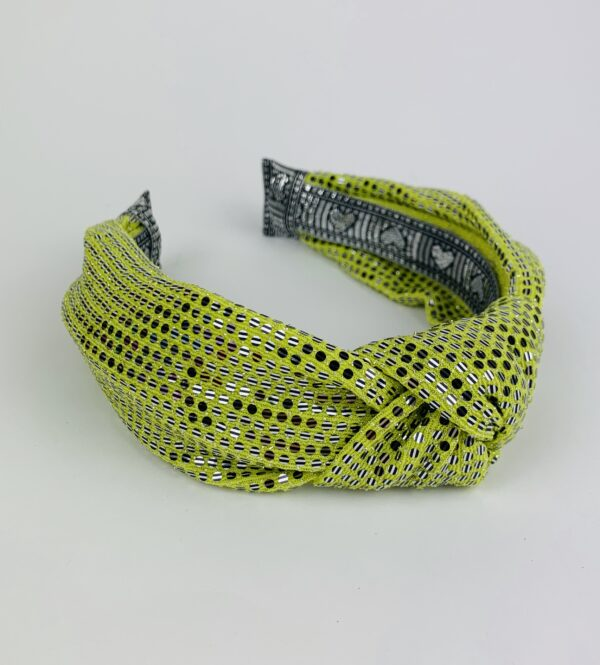 Lila Lime Green Turban Headband