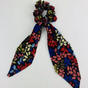 Lila Poppy Short Scrunchie Tie