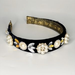 Lila Jewelled Milla Pearl Headband